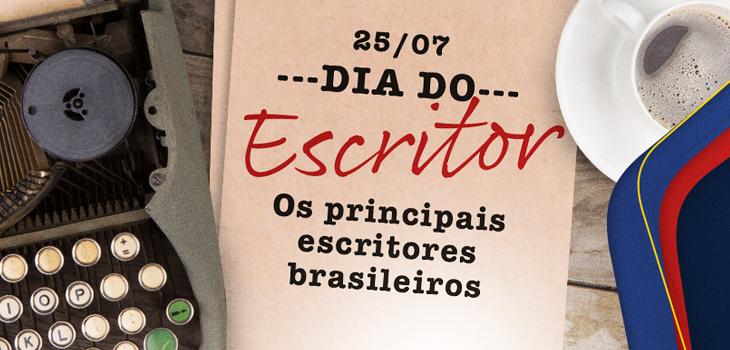 Dia do Escritor: escritores brasileiros que você precisa conhecer